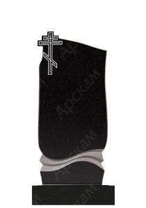 Гранитный памятник (с крестом) 110х50