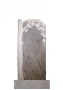 Мраморный памятник (береза) 100х45
