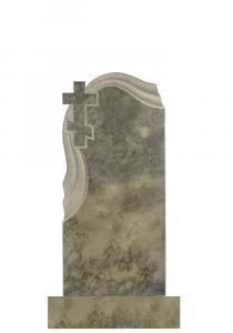 Мраморные памятники 100х45 (Крест с площеницей)