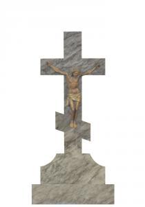 Мраморный памятник (крест) 110х45