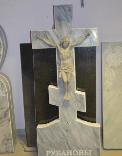 Крест мраморный