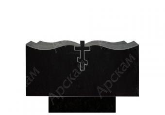 Гранитный памятник (крест с площеницей) 50х100