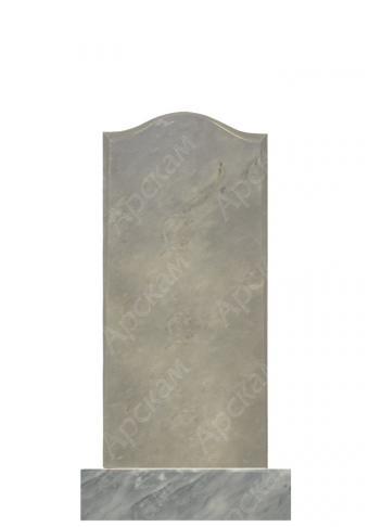 Мраморный памятник (плечики) 100х45