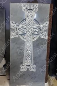 Армянский Крест из мрамора (Хачкар)
