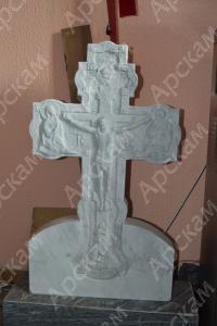 Крест с распятием из мрамора  (п - 30)